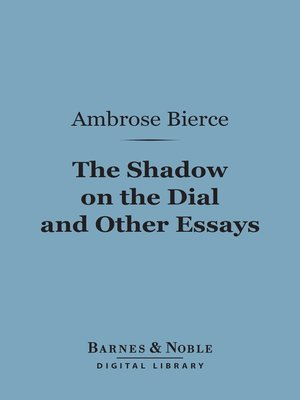 cover image of The Shadow on the Dial and Other Essays